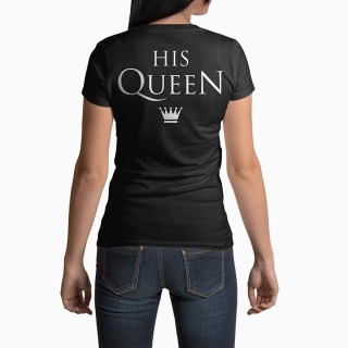 <span>Tricou Femei Personalizat</span> His Queen