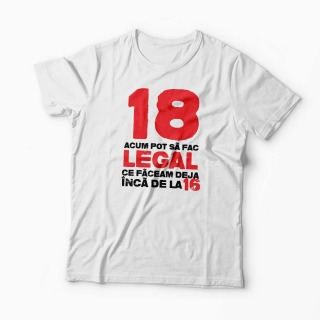 Tricou 18 ani si Legal