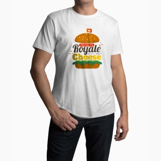 <span>Tricou Barbati Personalizat</span> Pulp Fiction Royale With Cheese