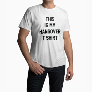 <span>Tricou Barbati Personalizat</span> This Is My Hangover T-Shirt