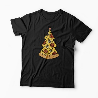 Tricou Brad Craciun Pizza