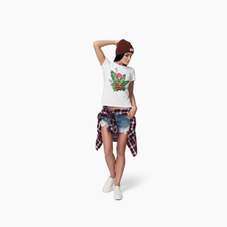 Tricou Flamingo Decorativ