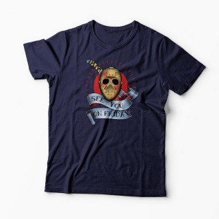 Tricou Jason See You On Friday 13