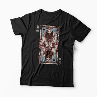 Tricou King Of Spades Card