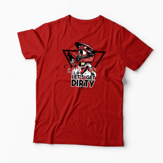 Tricou Motociclist Motocross Let's Get Dirty