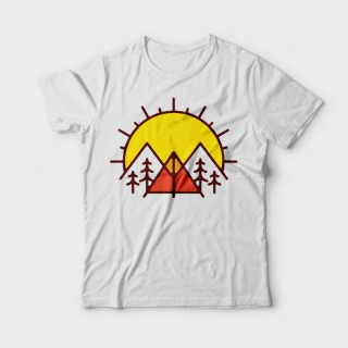 <span>Tricou Personalizat</span> Rasarit - Sunrise Camp