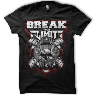 Tricou Sala - Break Your Limit Gym