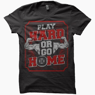 Tricou Sala Gym - Play Hard Or Go Home