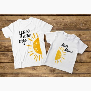 Tricou Set Mama Fica - You Are My Sun Shine