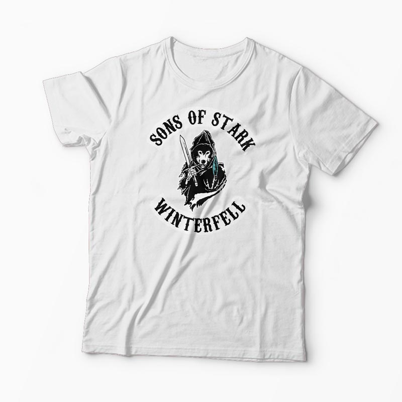 Tricou Game of Thrones - Sons of Stark Winterfell